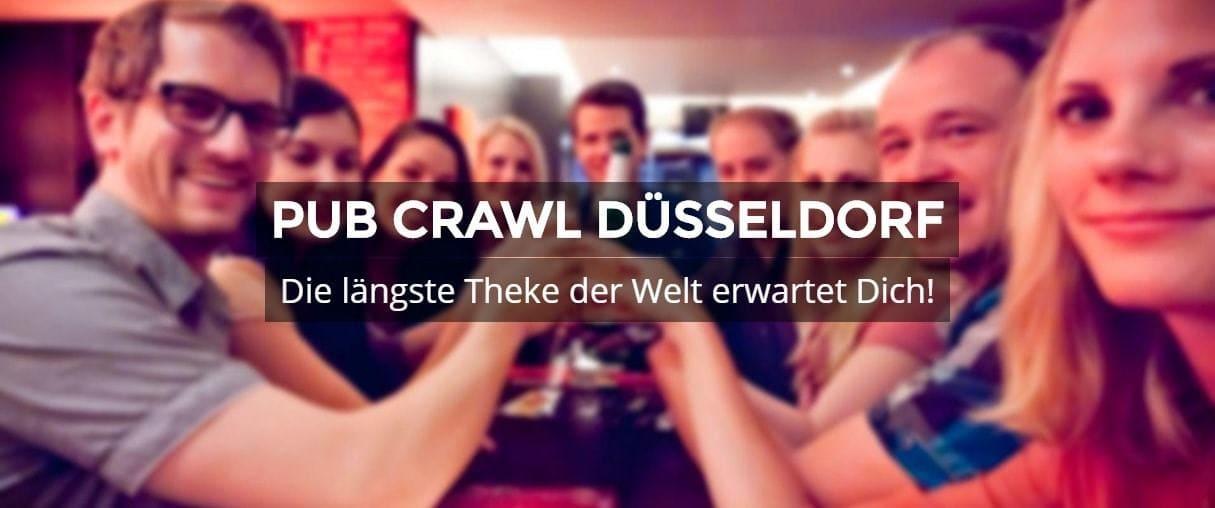 Pub Crawl Düsseldorf Die längste Theke der Welt erwartet Dich!
