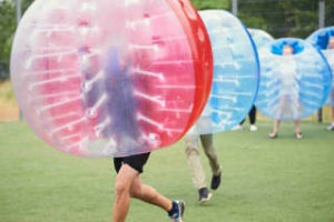 Jga mal anders mit Bubble Ball