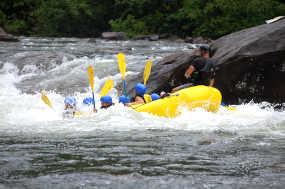 Junggesellenabschied Düssedlorf Rafting Tour