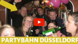 Junggesellenabschied Düsselorf Partybahn Straßenbahn in Düsseldorf